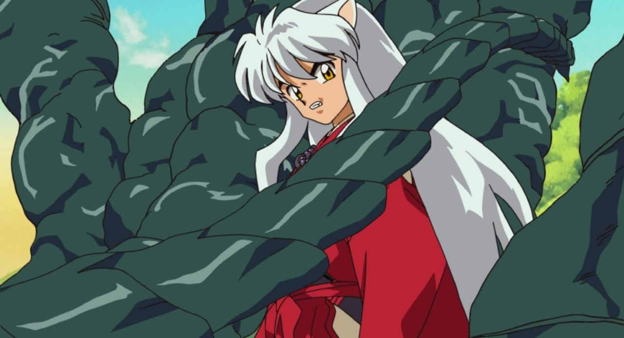 Inuyasha - Bildquelle: 2002  Rumiko Takahashi / Shogakukan-YTV-Sunrise-ShoPro-NTV-Toho-Yomiuri-TV Enterprise All Rights Reserved