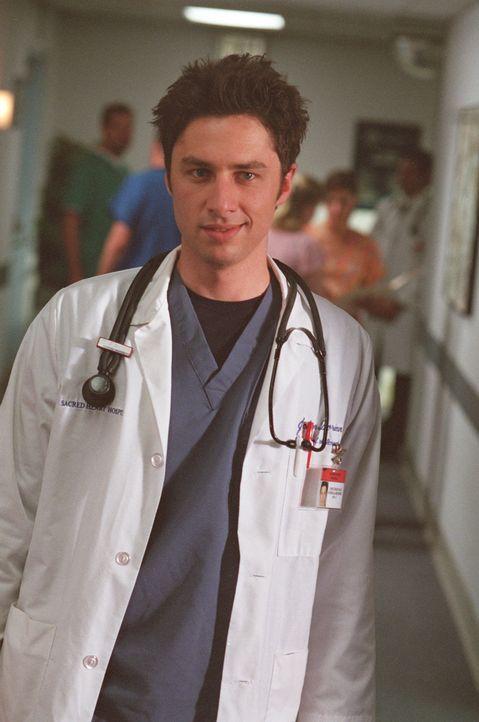 Zum ersten Mal in ihrer Karriere als Mediziner absolvieren J.D. (Zach Braff), Turk und Elliott eine gemeinsame Nachtschicht, in der keiner der Oberä... - Bildquelle: Touchstone Television
