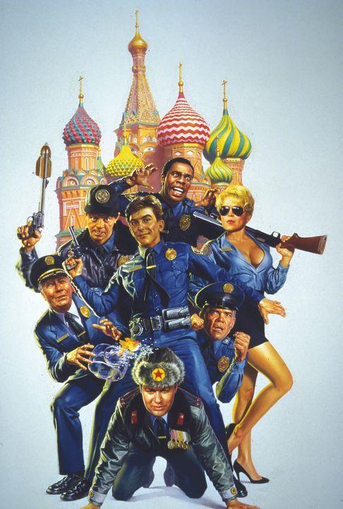 POLICE ACADEMY 7 - MISSION IN MOSKAU - Artwork - Bildquelle: Warner Bros.
