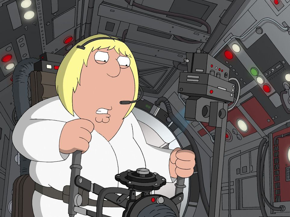 "Möge die Macht mit ""Family Guy"" sein, der Griffin-Clan dreht die größte Science-Fiction-Saga aller Zeiten durch die Mangel: Chris als halbwüchsiger... - Bildquelle: TM +   Twentieth Century Fox Film Corporation. All Rights Reserved."