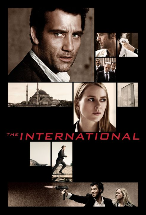 THE INTERNATIONAL - Plakatmotiv - Bildquelle: 2009 Columbia Pictures Industries, Inc. and Beverly Blvd LLC. All Rights Reserved.