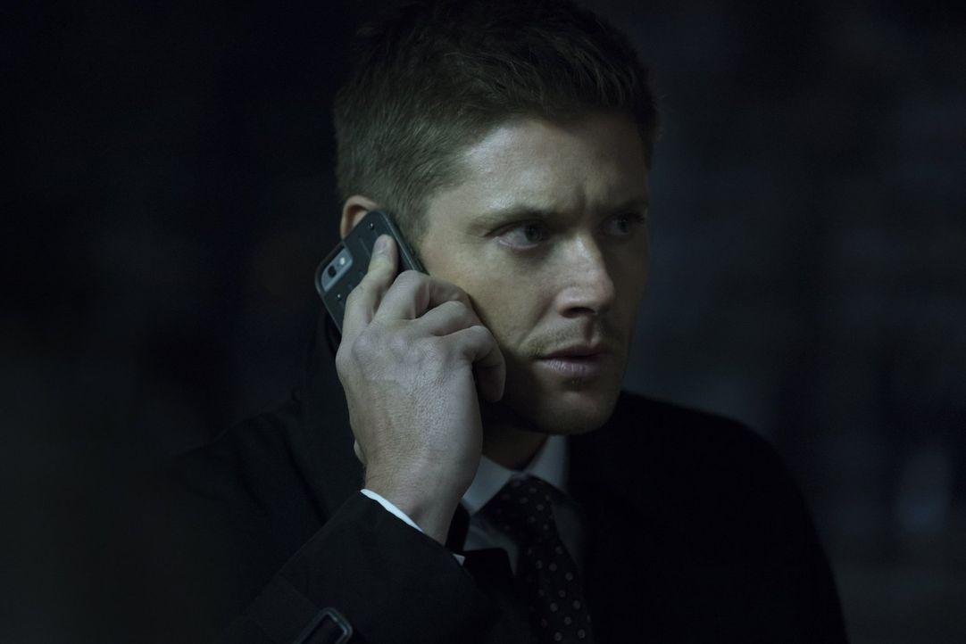 Gelingt es Dean (Jensen Ackles) und Sam, ihre alten Bekannten vor ungebetenen Gästen zu beschützen, die mit einem Familienmitglied noch eine Rechnun... - Bildquelle: 2014 Warner Brothers
