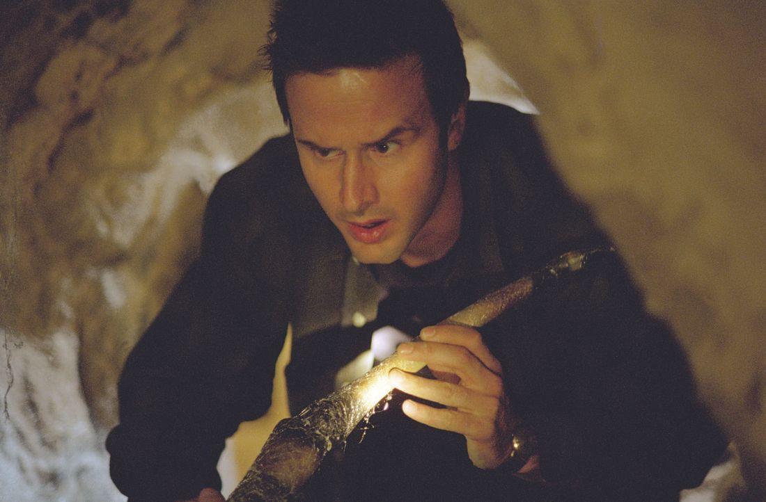 Der Mineningenieur Chris McCormick (David Arquette) setzt alles daran, die Monsterspinnen außer Gefecht zu setzen ... - Bildquelle: Warner Bros. Pictures