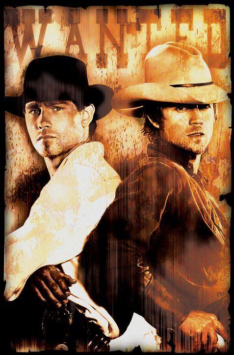Butch Cassidy (David Clayton Rogers, l.) und Sundance Kid (Ryan Browing, r.) ziehen als Gesetzlose den Norden Amerikas ...