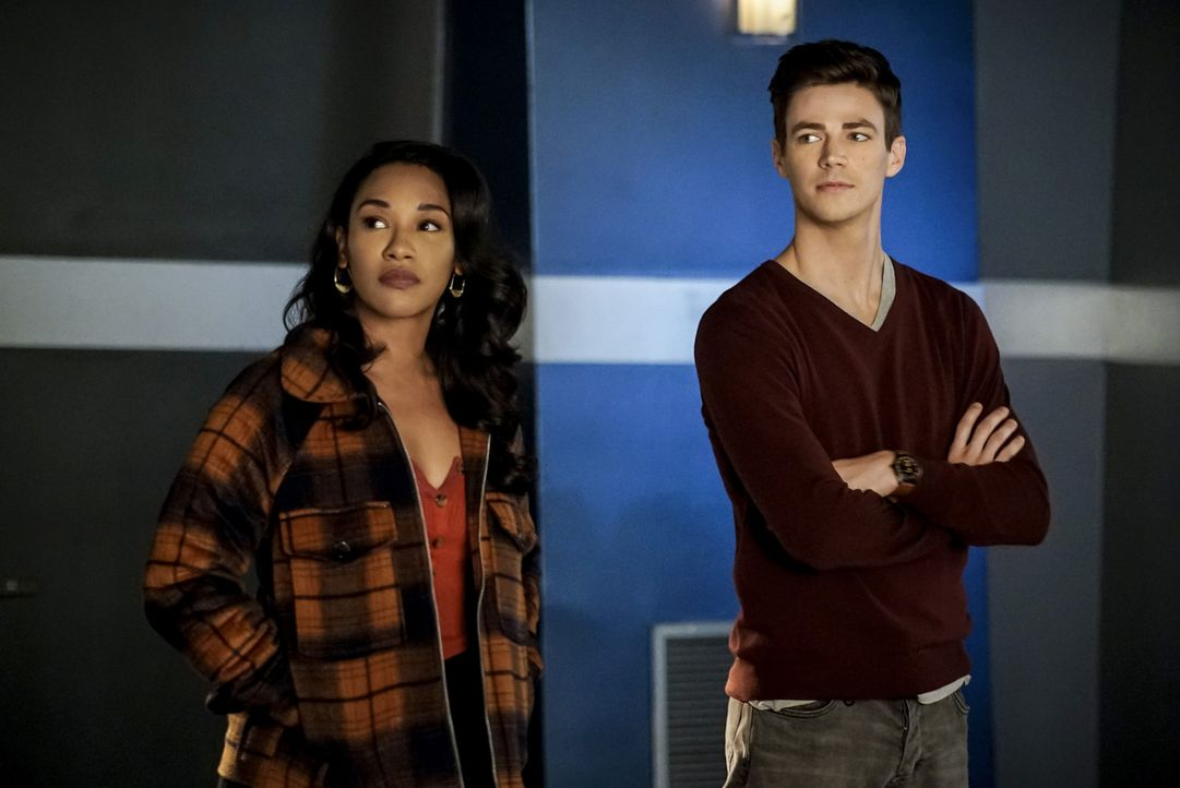 Iris (Candice Patton, l.); Barry (Grant Gustin, r.) - Bildquelle: Shane Harvey 2018 The CW Network, LLC. All rights reserved.