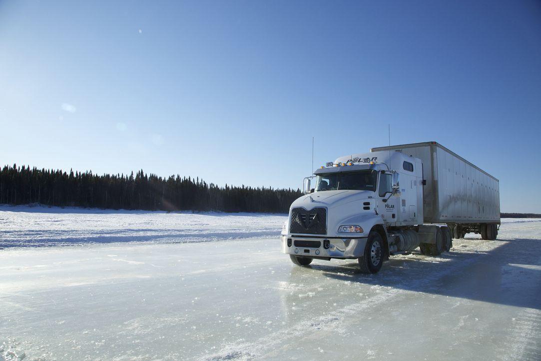 Die Trucker-Saison neigt sich dem Ende zu. Um im Geschäft zu bleiben, suchen... - Bildquelle: 2015 A+E Networks, LLC