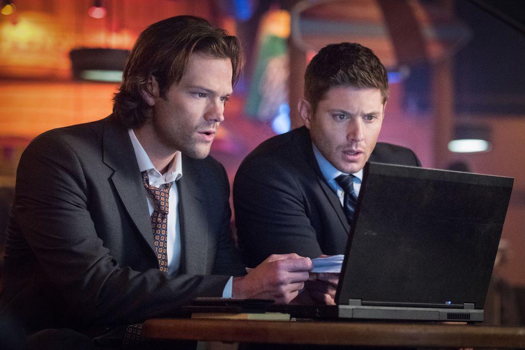 Sam (Jared Padalecki, l.); Dean (Jensen Ackles, r.) - Bildquelle: Dean Buscher 2016 The CW Network, LLC. All Rights Reserved / Dean Buscher