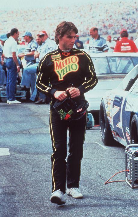 Cole Trickle (Tom Cruise) hat sich in den Kopf gesetzt, das Rennen in Daytona zu gewinnen - ein schweres und mörderisches Stock- Car-Rennen ... - Bildquelle: Paramount Pictures