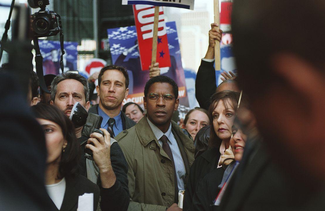 Versucht eine weitreichende Verschwörung aufzudecken: Ben Marco (Denzel Washington, M.) ... - Bildquelle: Paramount Pictures