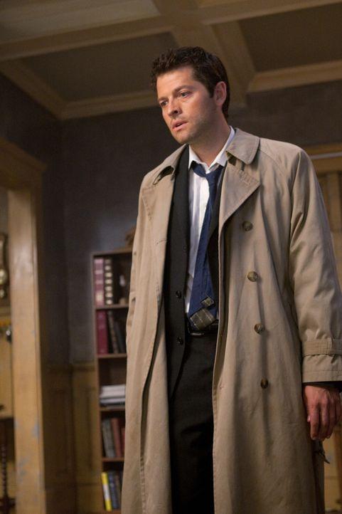Als plötzlich Castiel (Misha Collins) auftaucht und Sam und Dean erklärt, dass er Jesse wegen seiner besonderen Gabe töten musste, sind die nicht se... - Bildquelle: Warner Bros. Television