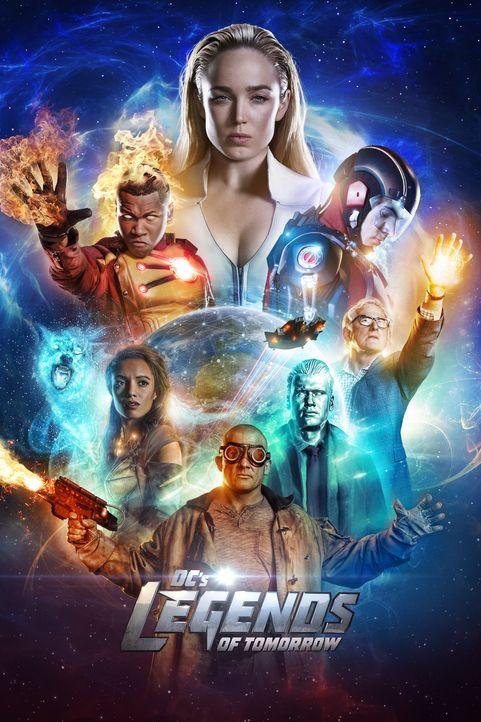 (3. Staffel) - Legends of Tomorrow - Artwork - Bildquelle: 2017 Warner Bros.