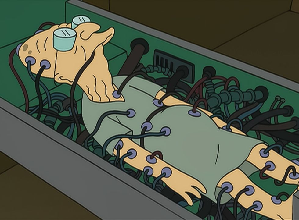 Professor Farnsworth - Bildquelle: 1999 Fox and its related entities.  All rights reserved.