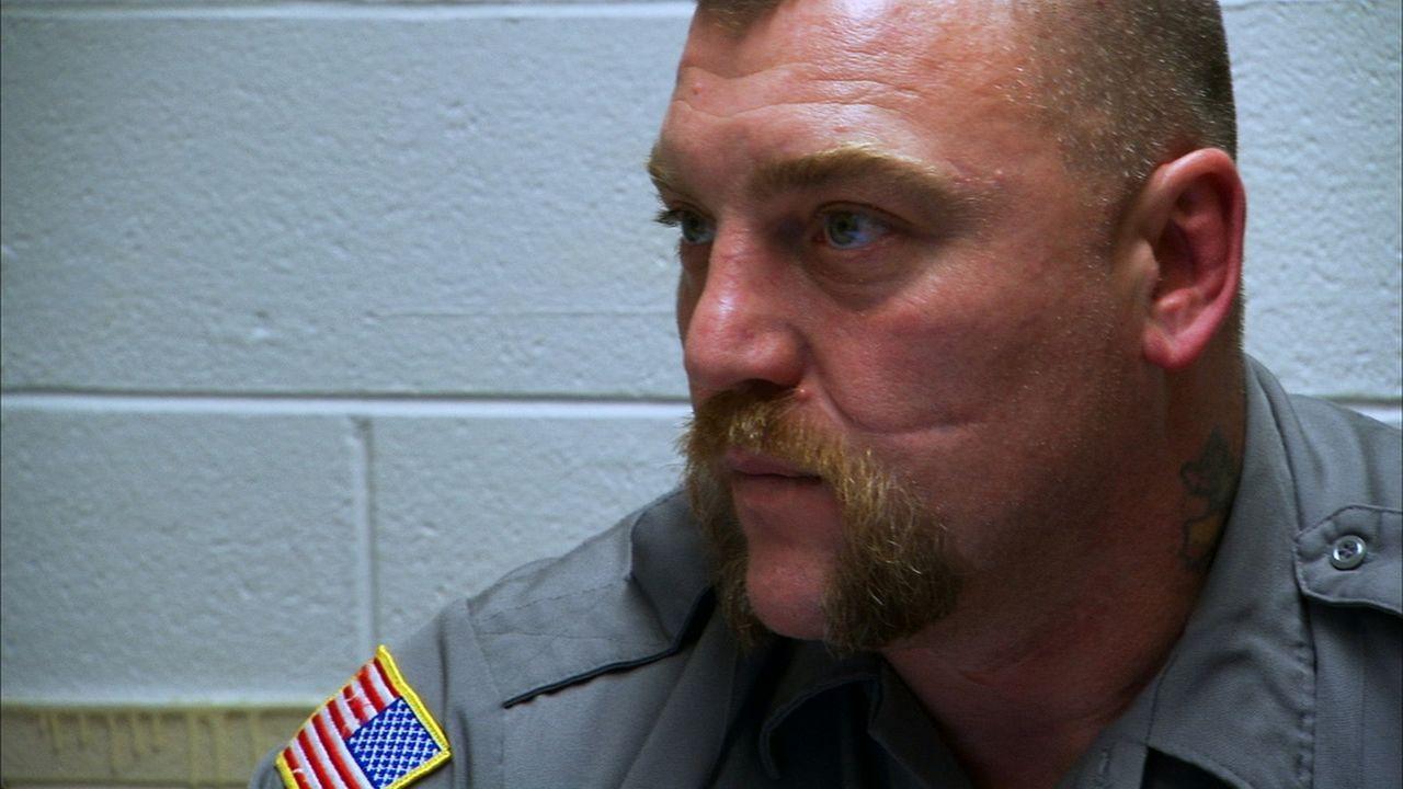 """Der Wärter James """"Big Chew"""" Hammons behält die Straftäter im Ohio Corectional Reception Center im Auge ... - Bildquelle: 2010 NGC Network US, LLC All Rights Reserved"""