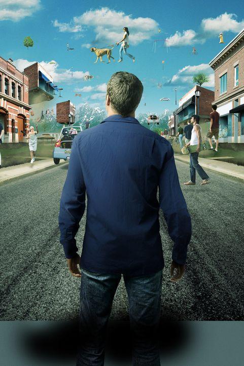 (1. Staffel) - Durch Zufall landet Jack Carter (Colin Ferguson) in Eureka, einem kleinen Städtchen, in dem alles etwas anders ist ... - Bildquelle: Universal Television