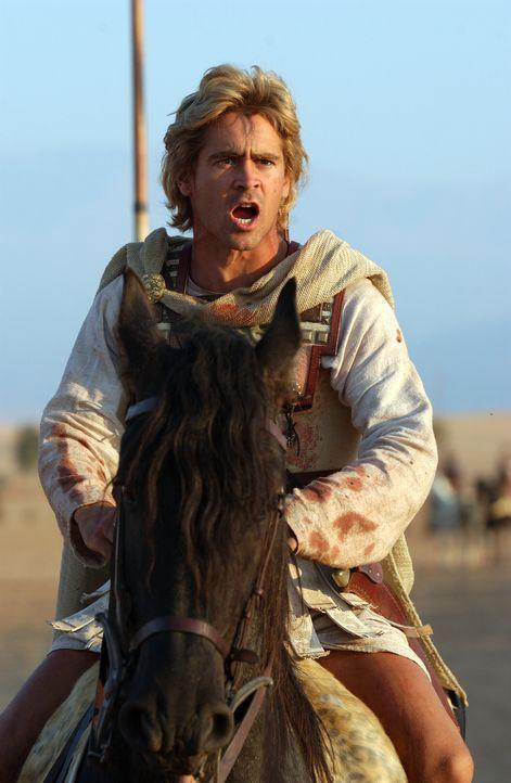 Alexanders (Colin Farrell) Eroberungswut stößt nicht überall auf Anerkennung. - Bildquelle: Constantin Film
