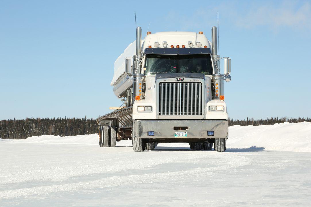 Darrell hat Polar Industries verlassen und ist nun heiß auf eine neue Ladung... - Bildquelle: 2014 A+E Networks, LLC