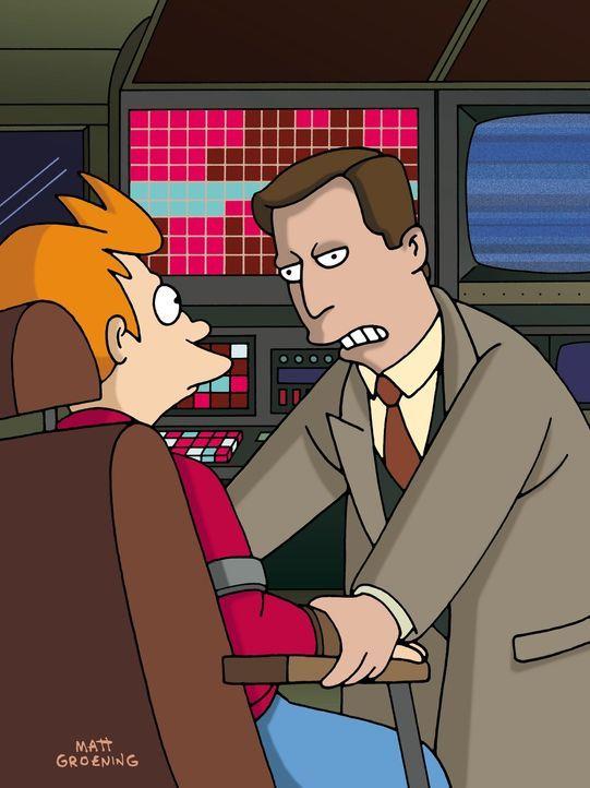 Nach einem gewagten Wunsch findet sich Fry (l.) in einer Realität wieder, in der er nicht eingefroren wurde ... - Bildquelle: und TM Twenthieth Century Fox Film Corporation - Alle Rechte vorbehalten