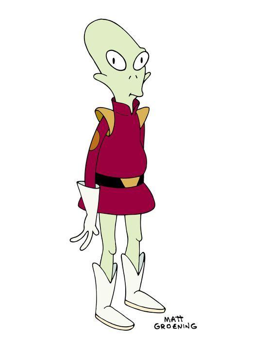 (5. Staffel) - Kiff K. ist Zapps außerirdisch intelligenter Laufbursche. - Bildquelle: und TM Twenthieth Century Fox Film Corporation - Alle Rechte vorbehalten