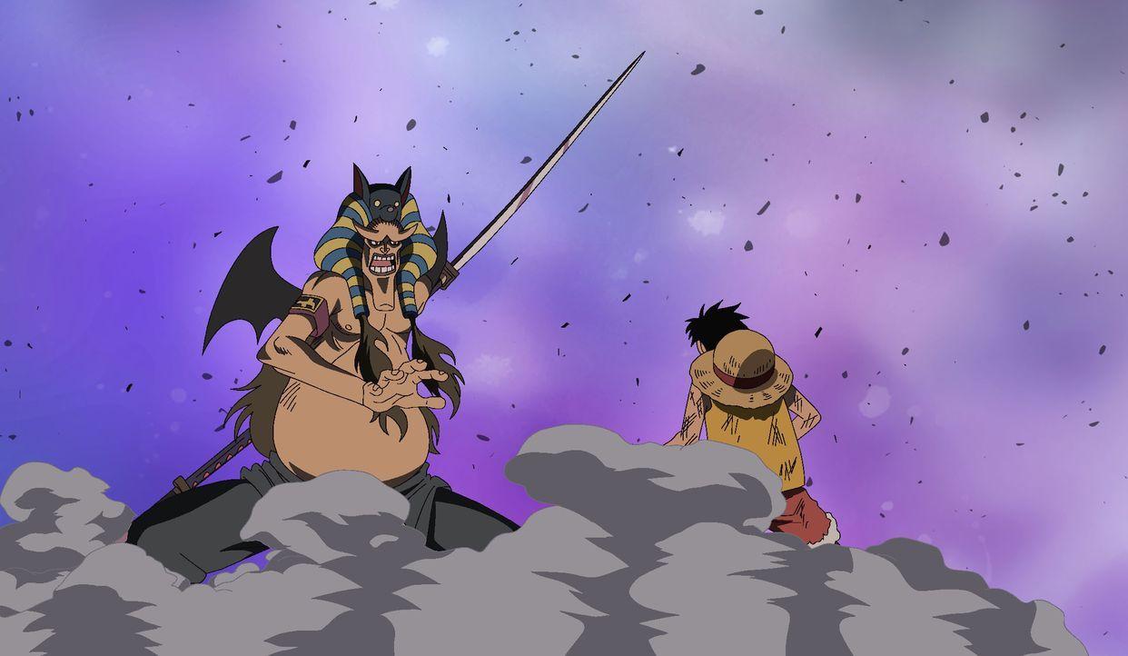 Ruffy, Jinbei, Sir Crocodile und die New Kamas wollen in die höheren Stockwe... - Bildquelle: Eiichiro Oda/Shueisha, Toei Animation