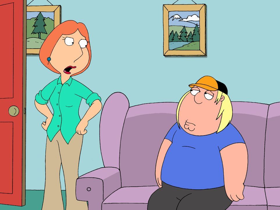 Lois Griffin (l.); Chris Griffin (r.) - Bildquelle: 2005 Fox and its related entities. All rights reserved.