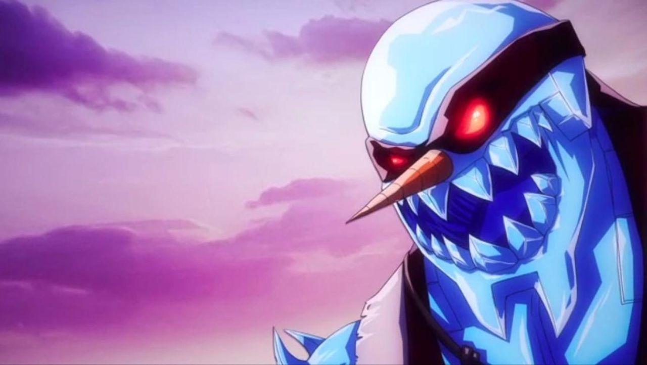 Die Bewohner von Eureka müssen sich mit einem gigantischen Ninja-Schneemann auseinandersetzen ... - Bildquelle: Universal Television