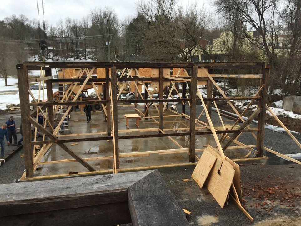 Werden es die Scheunen-Profis schaffen, in Lewisburg eine neue Unterkunft für den Wochenmarkt zu bauen? - Bildquelle: 2015, DIY Network/Scripps Networks, LLC. All Rights Reserved.