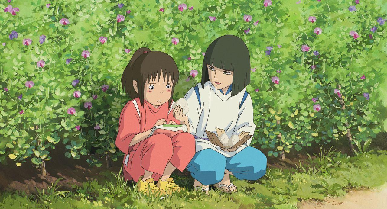Chihiro (l.); Haku (r.) - Bildquelle: Wild Bunch