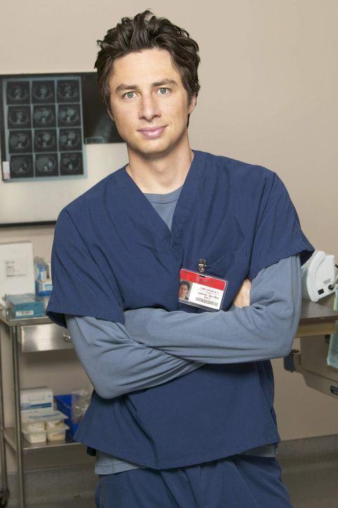(4. Staffel) - Neue Überraschungen warten auf den engagierten Arzt John Dorian (Zach Braff) ... - Bildquelle: Touchstone Television