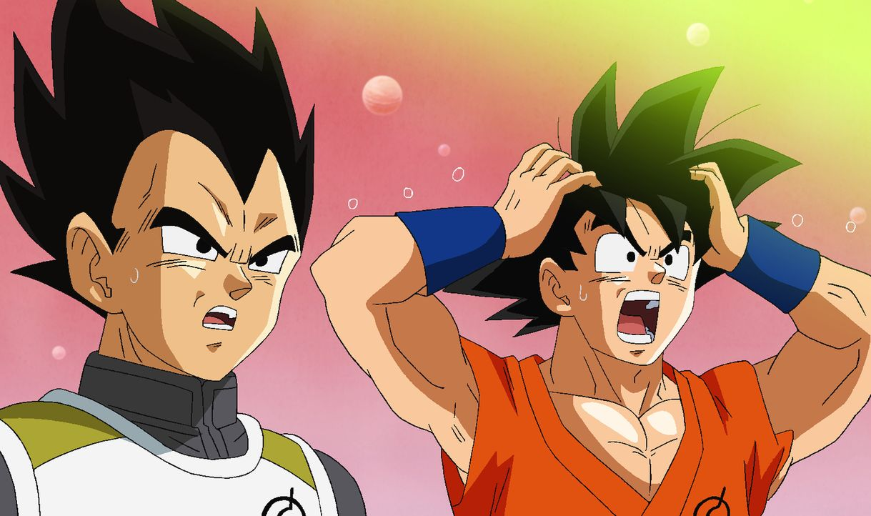Gohan stellt sich Freezer noch einmal gegenüber und mobilisiert seine ganze Kraft. Dadurch ermöglicht er es Goku, sein Qi zu orten und sich und Vege... - Bildquelle: BIRD STUDIO/SHUEISHA, TOEI ANIMATION   B.S./S., T.A.