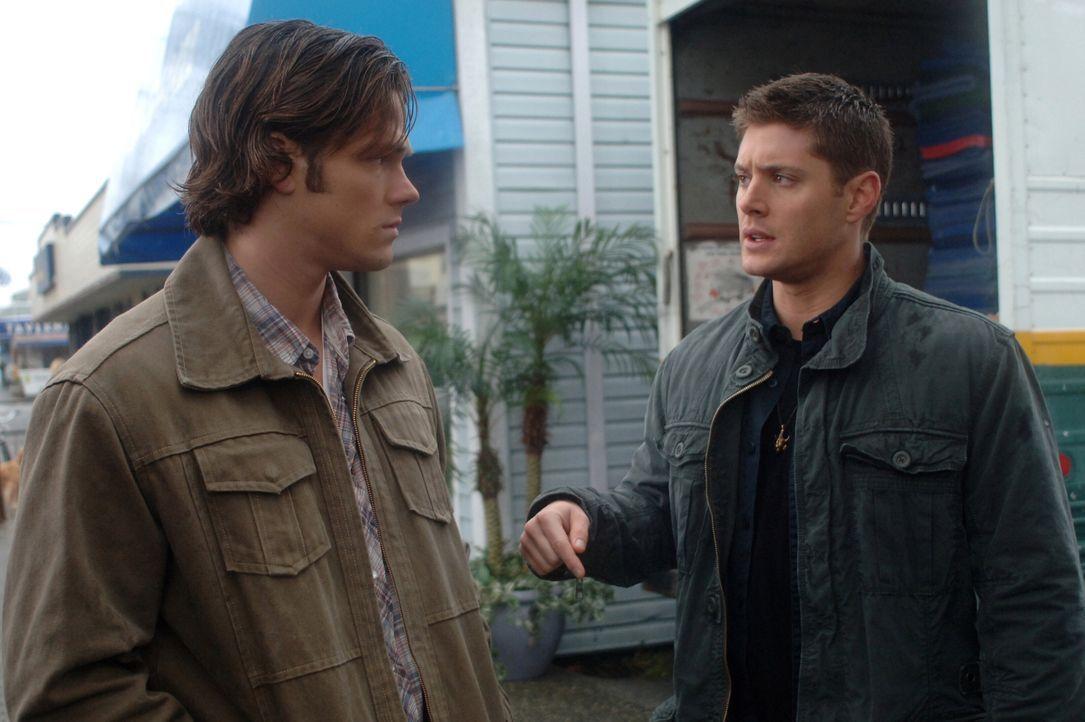 Untersuchen einen neuen mysteriösen Fall: Sam (Jared Padalecki, l.) und Dean Winchester (Jensen Ackles, r.) ... - Bildquelle: Warner Bros. Television