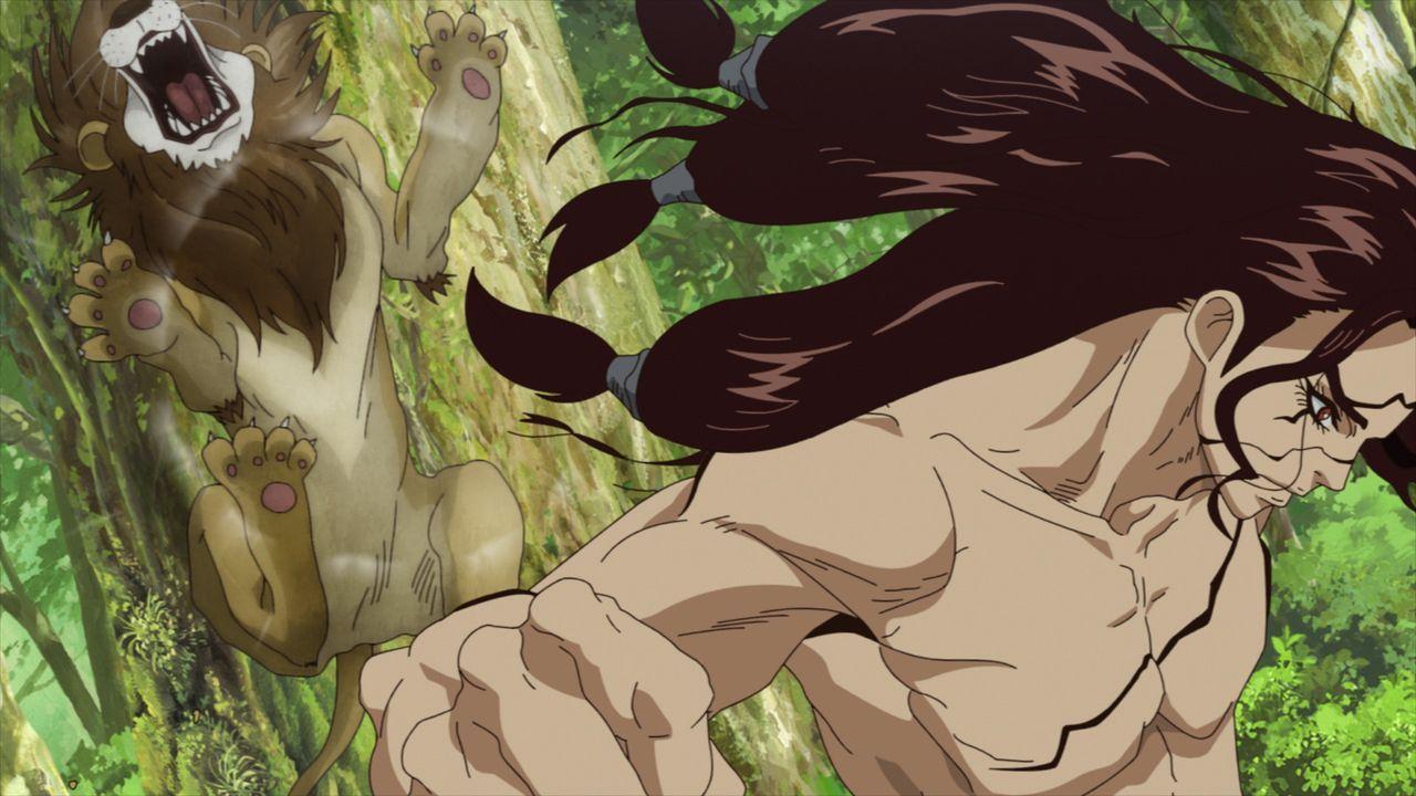 King of the Stone World - Bildquelle: Kome Studio, Boichi/SHUEISHA, Dr.STONE Project