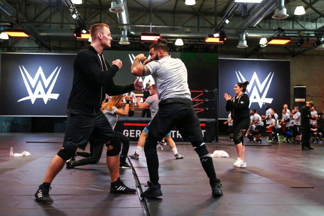 WWE Germany Tryout - Bildquelle: Janice Mersiovsky ProSieben MAXX/Janice Mersiovsky