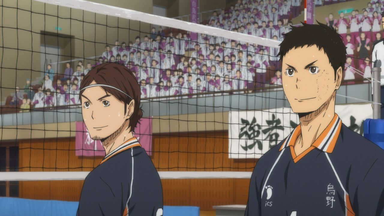 "(v.l.n.r.) Asahi Azumane; Daichi Sawamura - Bildquelle: H.Furudate / Shueisha,""Haikyu!!"" Project, MBS Instinct"