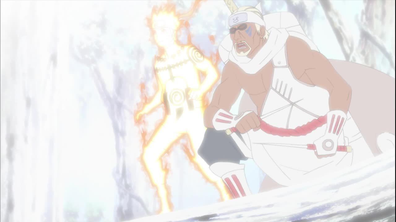 Naruto und Killer B sind gute Kameraden geworden
