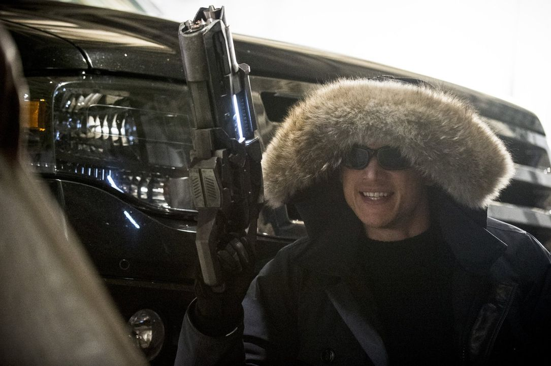 "Ist zurück in Central City und will Barry alias ""The Flash"" nichts Gutes: Leonard Snart alias Captain Cold (Wentworth Miller) ... - Bildquelle: Warner Brothers."