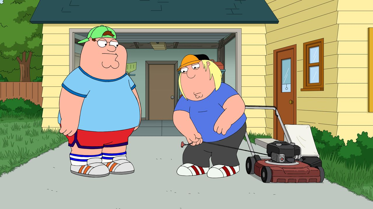 Peter Griffin (l.); Chris Griffin (r.) - Bildquelle: 2018-2019 Fox and its related entities.  All rights reserved.