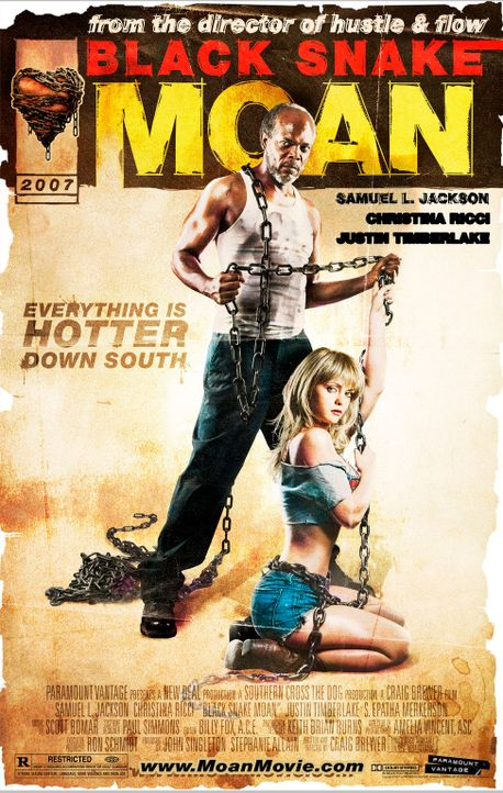 Black Snake Moan - Plakatmotiv - Bildquelle: Copyright   2006 by PARAMOUNT VANTAGE, a Division of PARAMOUNT PICTURES. All Rights Reserved.