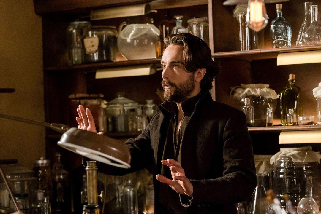 Während Crane (Tom Mison) eine alles verändernde Entdeckung macht, müssen Jenny und Joe gleichzeitig um ihre Beziehung und gegen einen Dämon kämpfen... - Bildquelle: 2015-2016 Fox and its related entities.  All rights reserved.