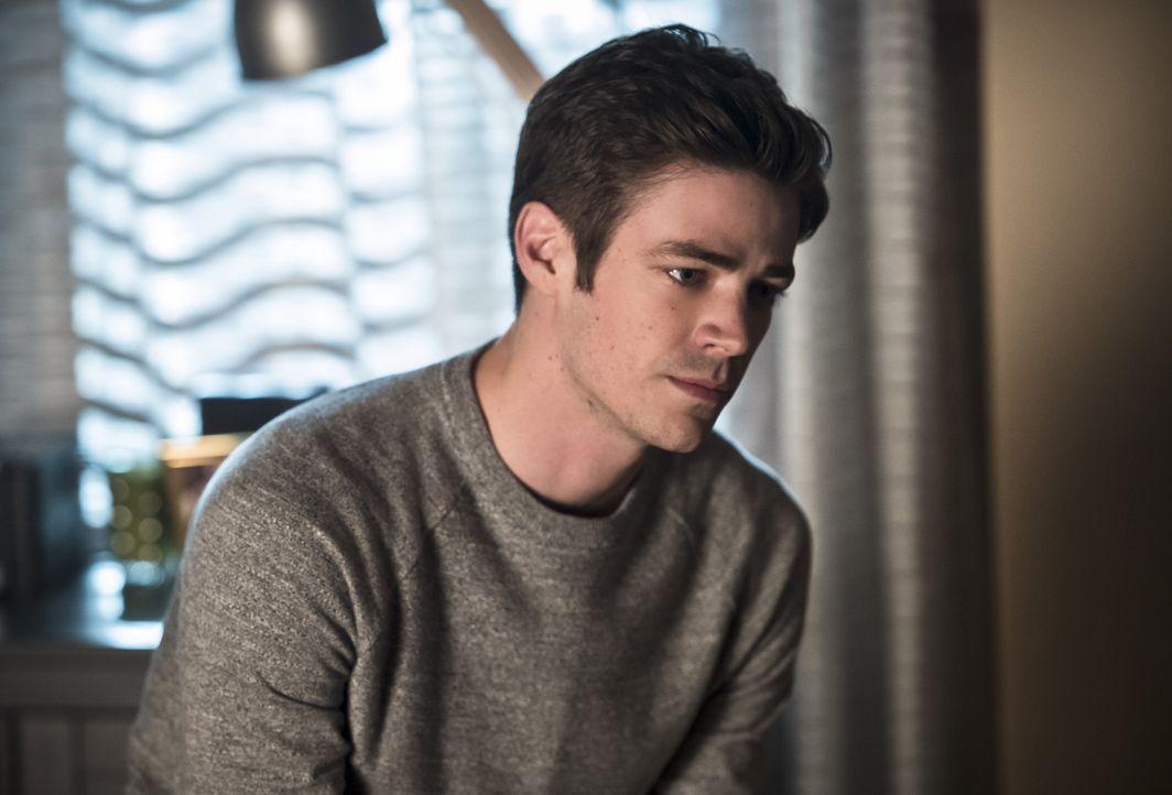 Während sich Barry (Grant Gustin) nur Gedanken darüber macht, wie er die Welt 2 von Zoom befreien kann, denk Iris über ihre Schicksal und die Liebe... - Bildquelle: Warner Bros. Entertainment, Inc.