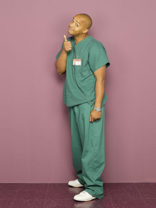 (8. Staffel) - Das Leben als Arzt bereitet ihm oft Kopfzerbrechen: Turk (Donald Faison) ... - Bildquelle: Touchstone Television