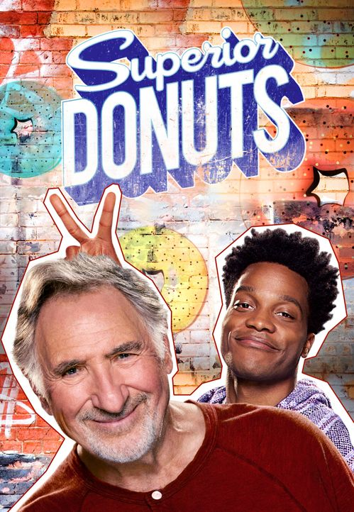 (2. Staffel) - Superior Donuts - Artwork - Bildquelle: 2016 CBS Broadcasting, Inc. All Rights Reserved.