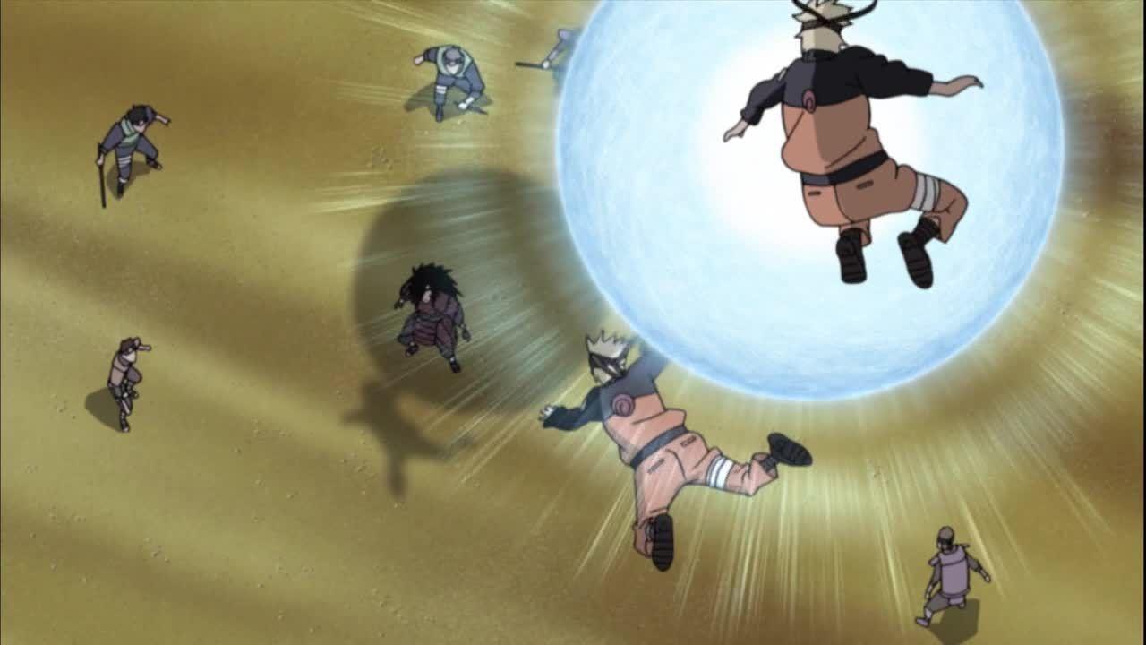 Die Shinobi-Kämpfer koordinieren ihre Angriffe