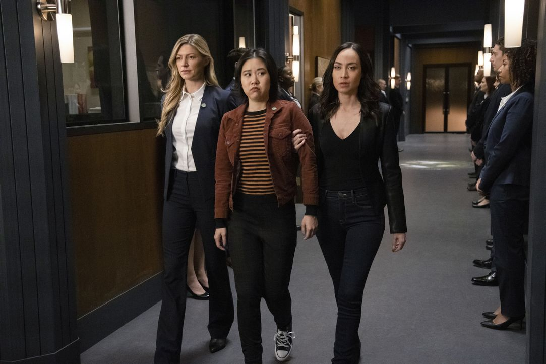 (v.l.n.r.) Ava (Jes Macallan); Mona (Ramona Young); Nora Darhk (Courtney Ford) - Bildquelle: Jack Rowand 2019 The CW Network, LLC. All rights reserved. / Jack Rowand