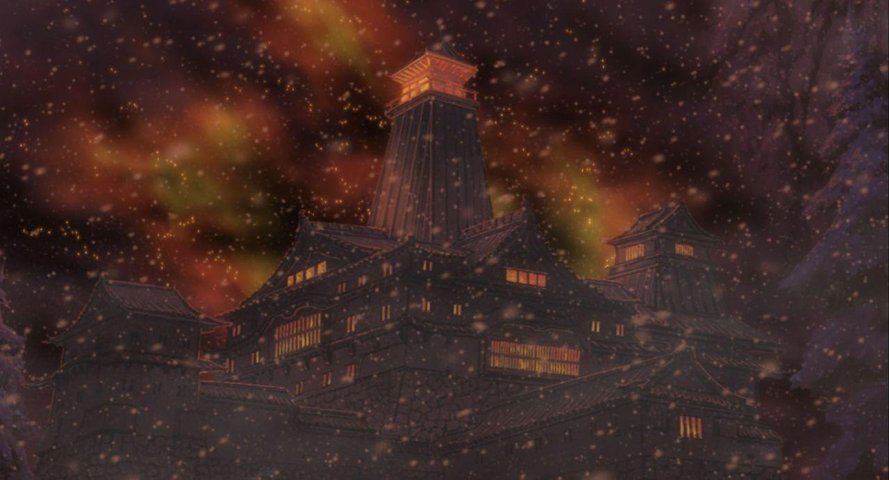 Als dann auch noch Doto, der böse Herrscher des Landes hinter Yukie her ist, wird allmählich klar, dass Yukie etwas über sich zu verbergen versucht.... - Bildquelle: MASASHI KISHIMOTO  NMP 2004