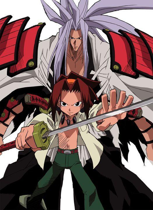 Gegen das Böse in der Welt der Menschen und Geister ziehen mit dem treuen Schwert Harusame Amidamaru (l.) und Yoh (r.) mutig zu Felde ... - Bildquelle: Hiroyuki Takei. All rights reserved