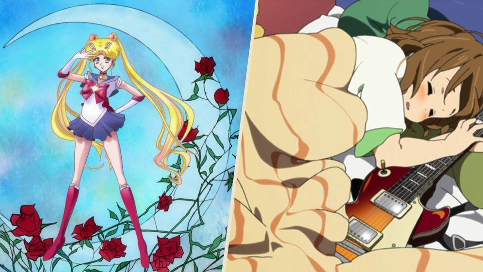 - Bildquelle: Naoko Takeuchi/PNP, Toei Animation; kakifly. Houbunsha/Sakura High Band