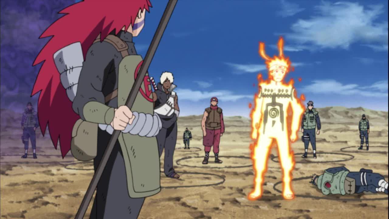 Die Shinobi wissen nicht, wer ein Verbündeter ist und wer ein eingeschleuster Doppelgänger