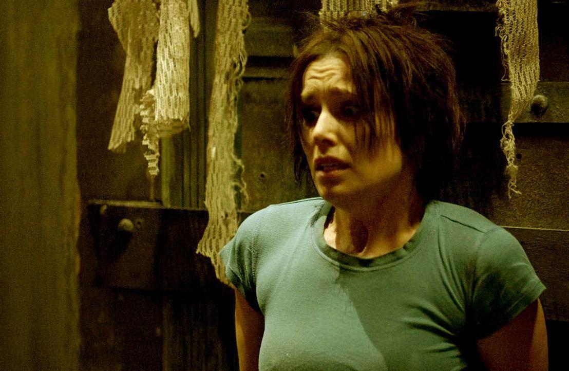 Spielt ein infames Spiel: Amanda (Shawnee Smith) ... - Bildquelle: Kinowelt Filmverleih