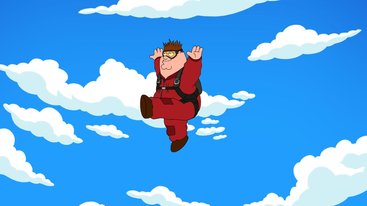 Landet nach einem missglückten Fallschirmsprung im Krankenhaus: Peter ... - Bildquelle: 2013 Twentieth Century Fox Film Corporation. All rights reserved.