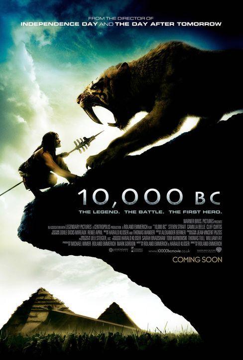 10.000 BC - Plakatmotiv: 10.000 vor Christus: Der junge Jäger D'Leh (Steven Strait) will das Herz seiner Angebeteten erobern, die jedoch plötzlich e... - Bildquelle: Warner Brothers